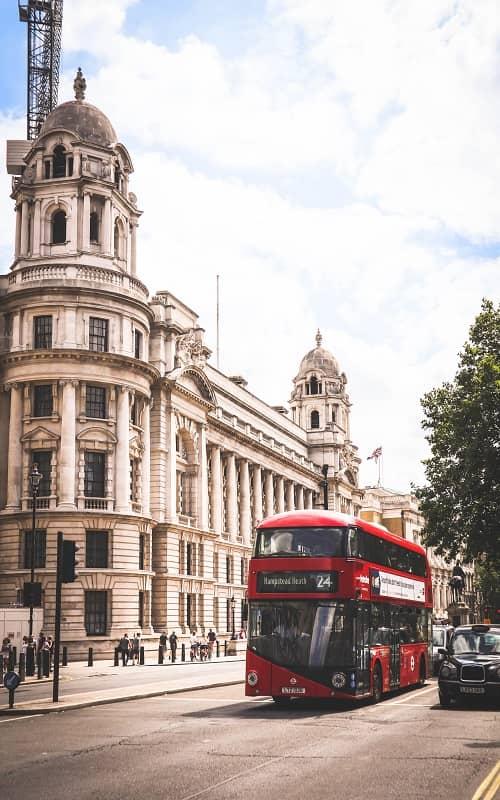 sprachreisen london uk bus